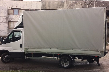 Heger Uprights on canvas IVECO DAILY N3